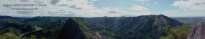 Mount Pamitinan Panoramic View of Sierra Madre Mountains