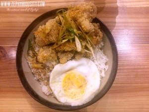 Chicken Bowl at Yo Panda