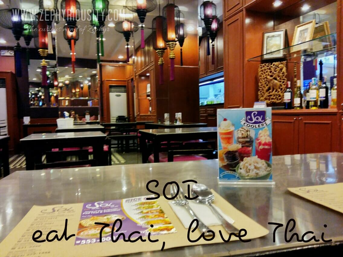 Authentic Thailand Restaurant - SOI - eat Thai, Love Thai
