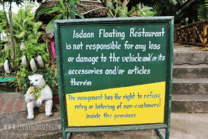 isdaan floating restaurant management