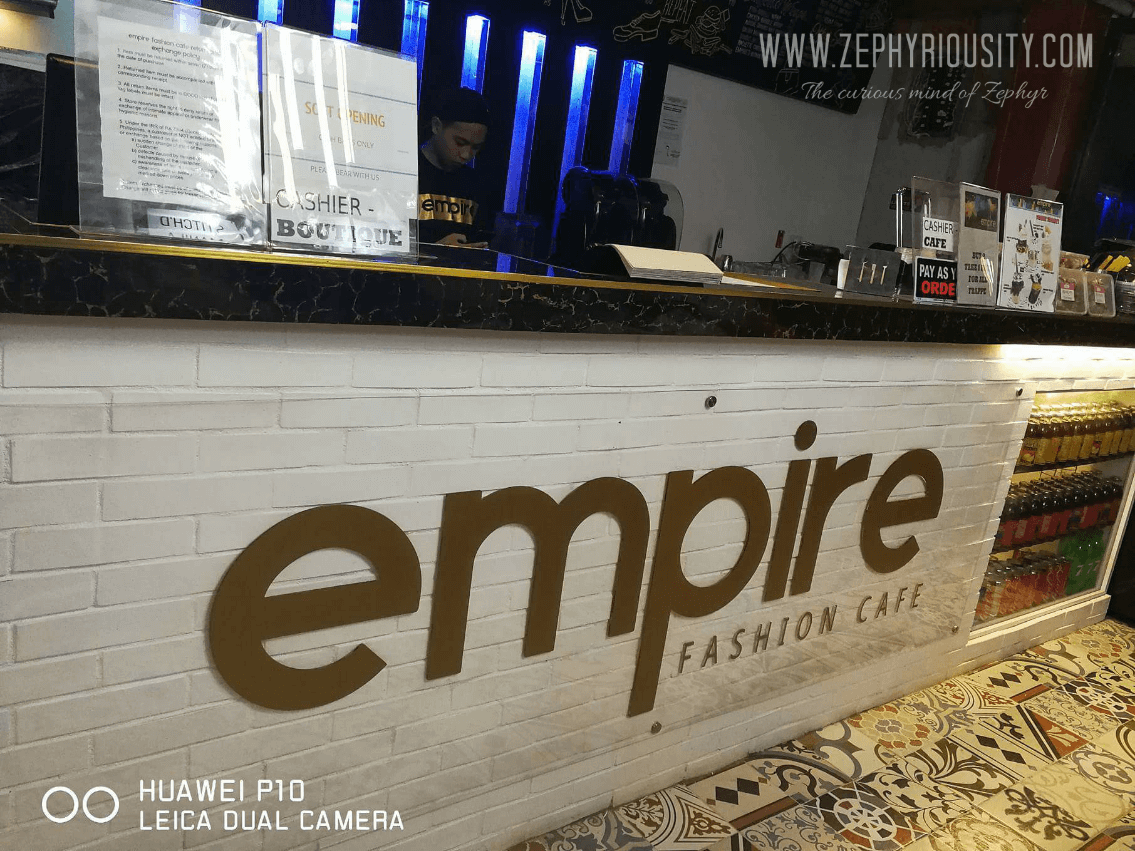 New in Town: Empire Fashion Cafe in Pasig