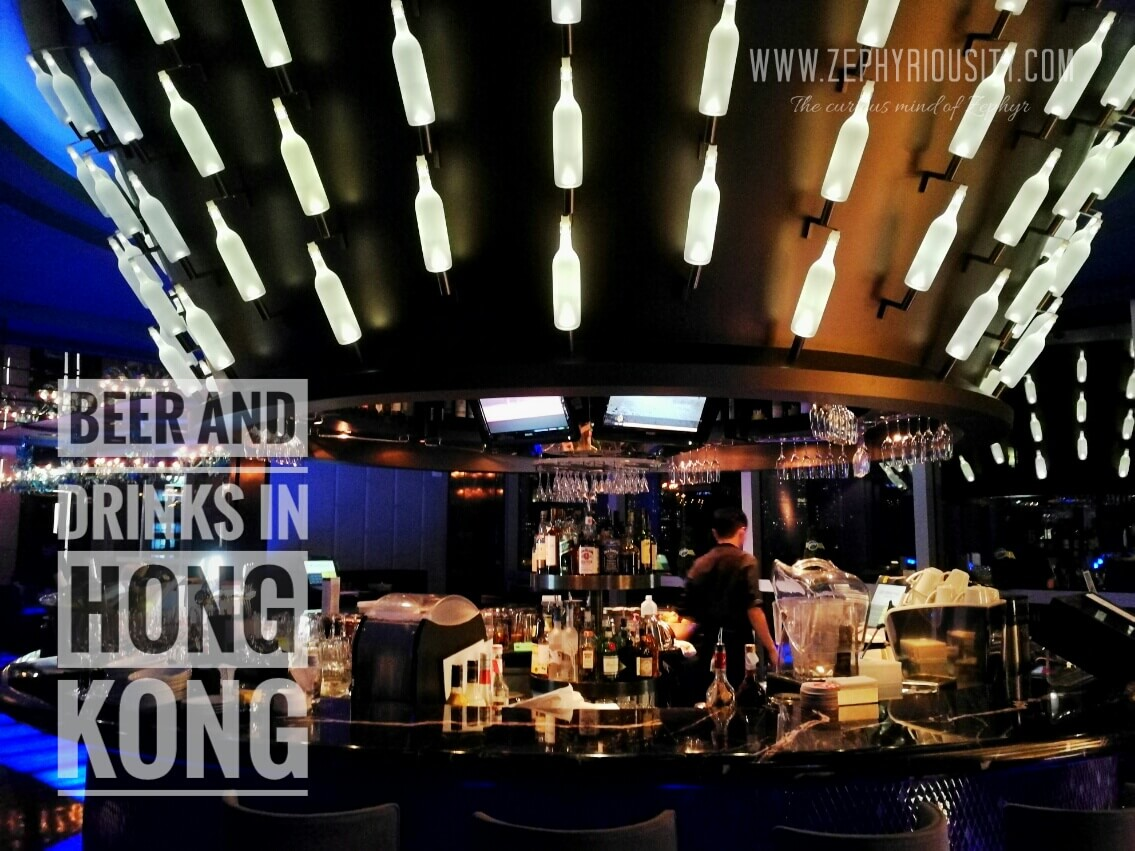 Beer and Drinks in Hong Kong