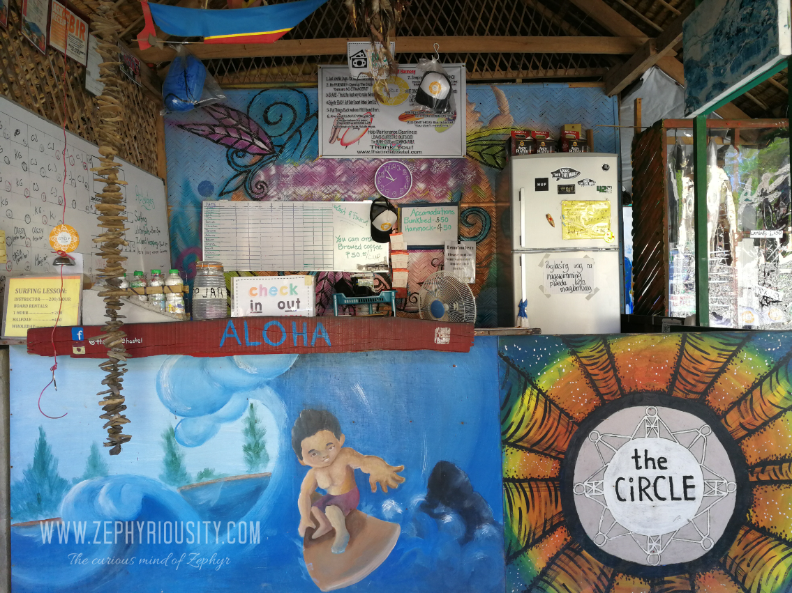 the circle hostel zambales liwliwa