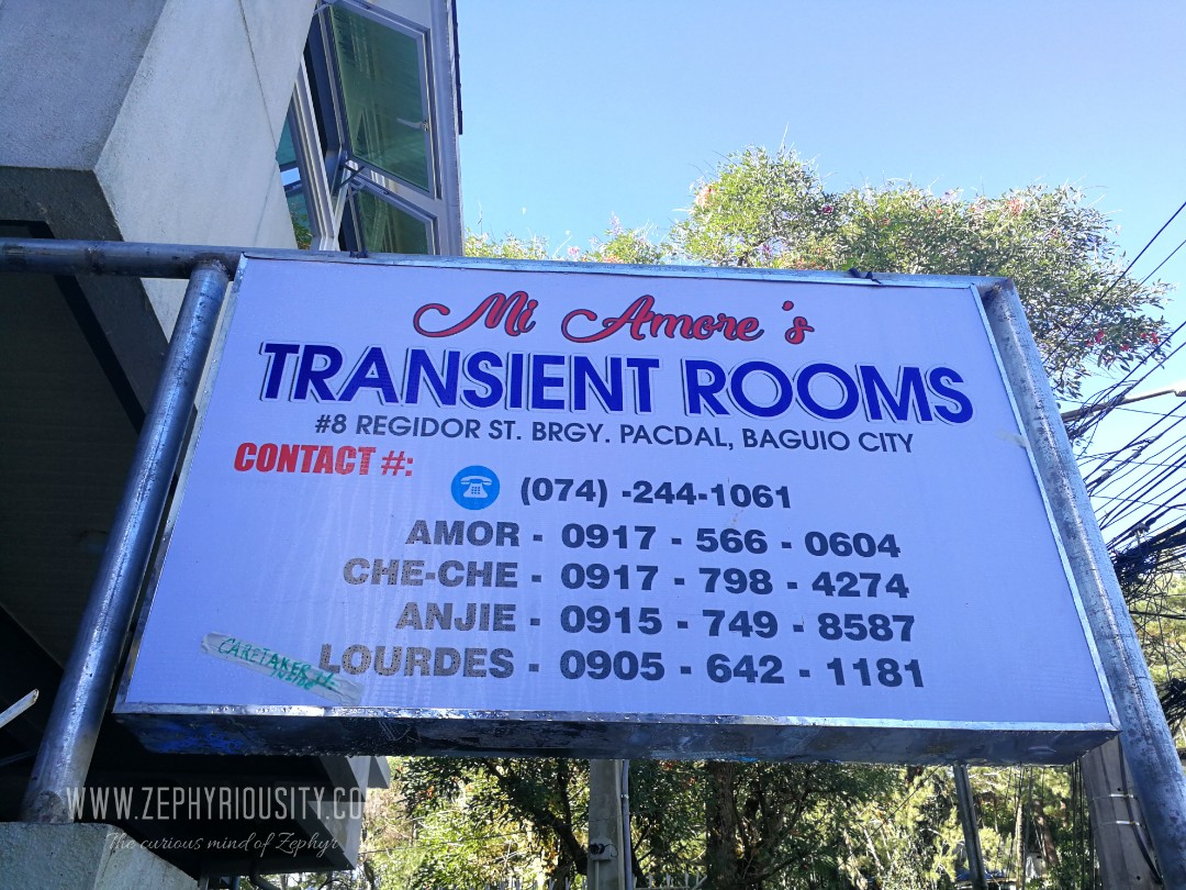 mi amores transient rooms contact numbers