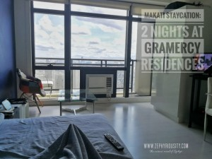 makati staycation 2 nights gramercy residences