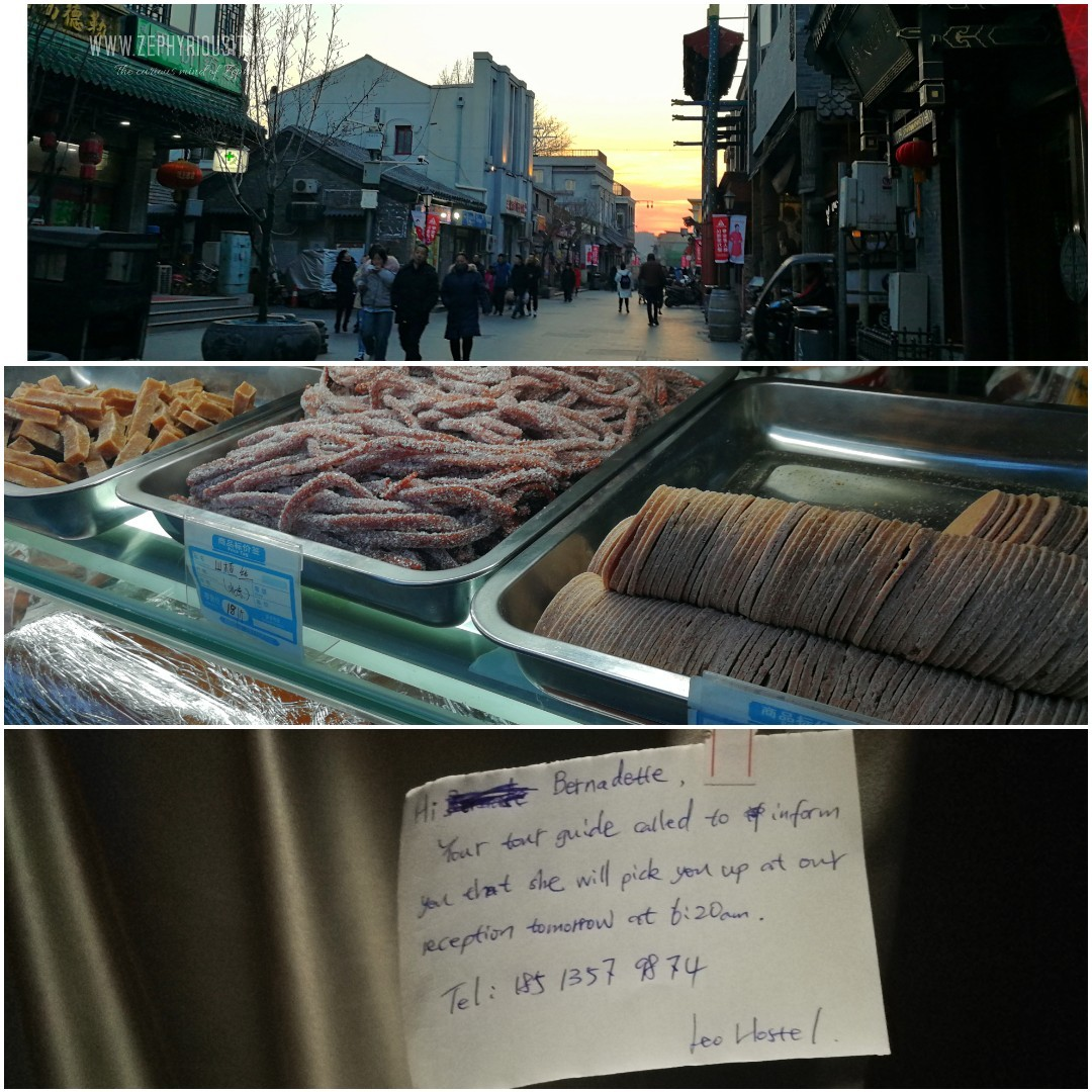 Day 4 Food tripping and wandering around the Hutong market street in Dashilan