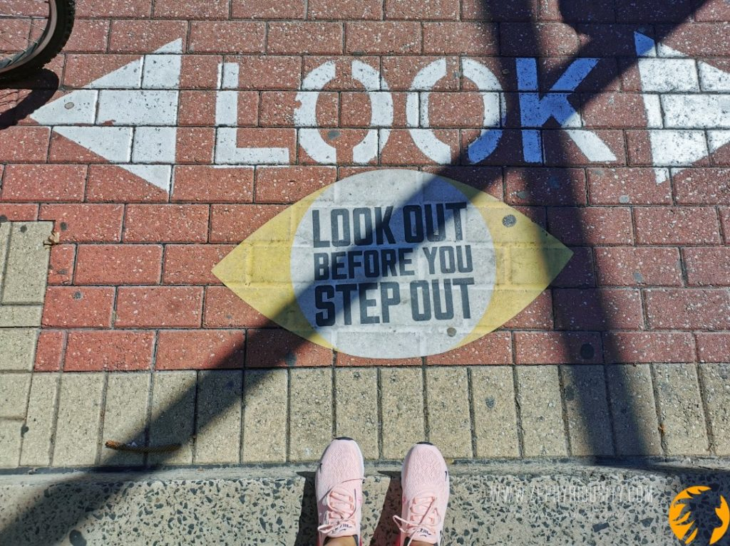 Look out before you step outside image