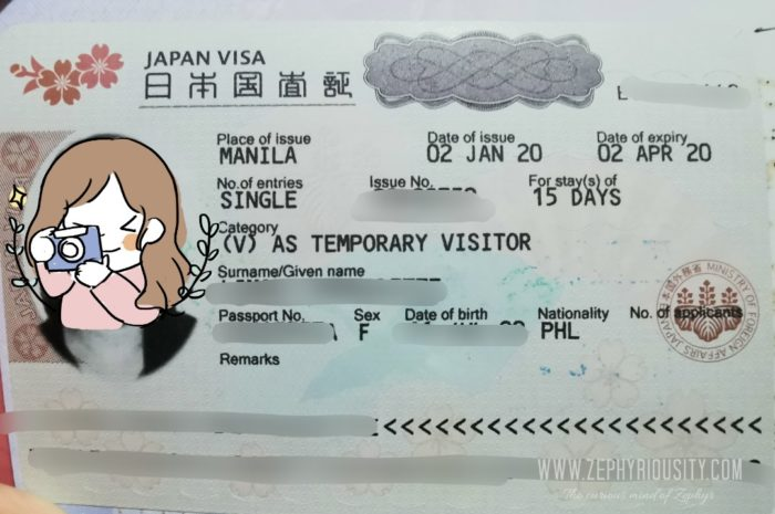 Approved Japan Tourist Visa with PSA Late Registration Issue