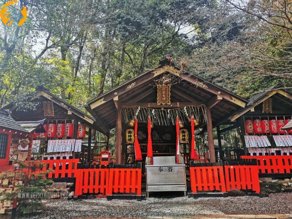 Nonomiya Shrine at Arashiyama