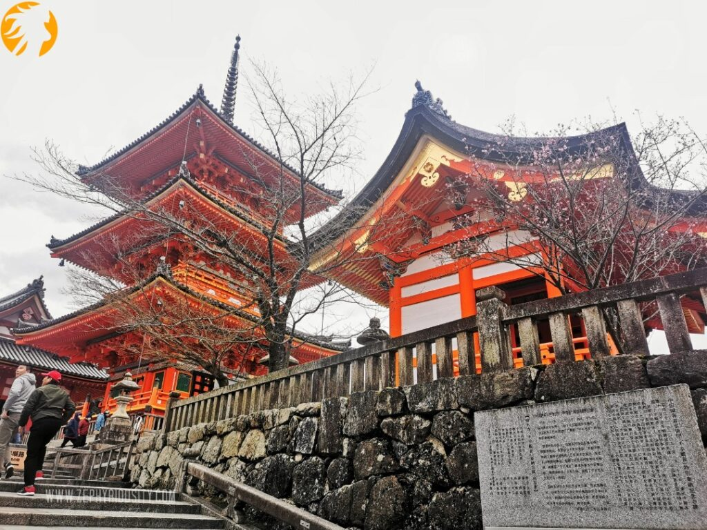 Shrines at Kiyomizu-dera